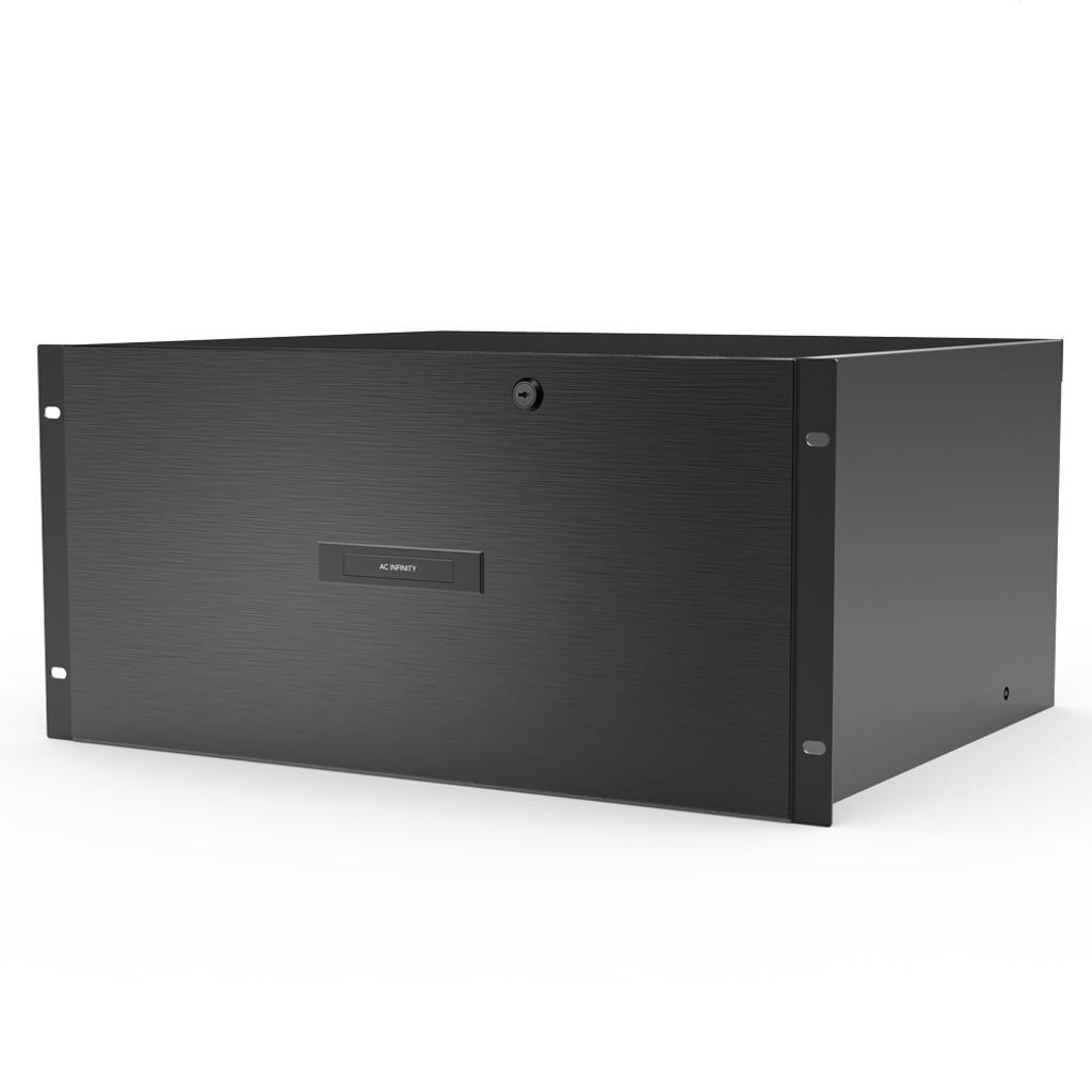 Heavy-Duty Aluminium Rack Drawer 5U