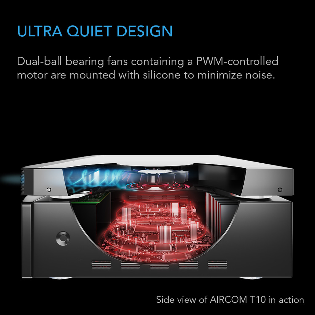 Aircom T10 Receiver And Av Component Cooling Fan System Front Pwm Circuit Design Submited Images Pic2fly Amplifier