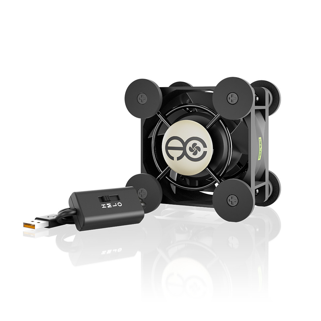 MULTIFAN Mini, Quiet USB Cooling Fan, 40mm