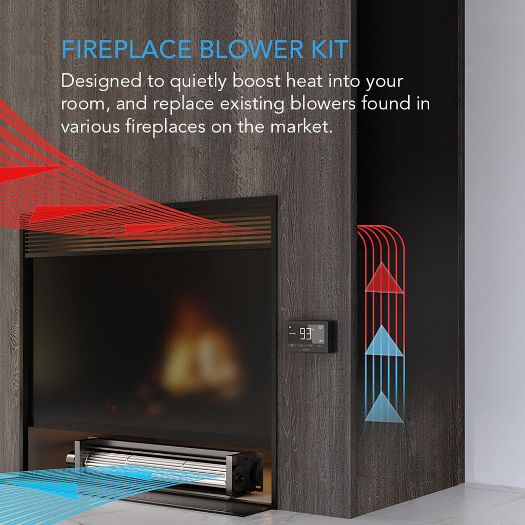Quiet Fireplace Blower