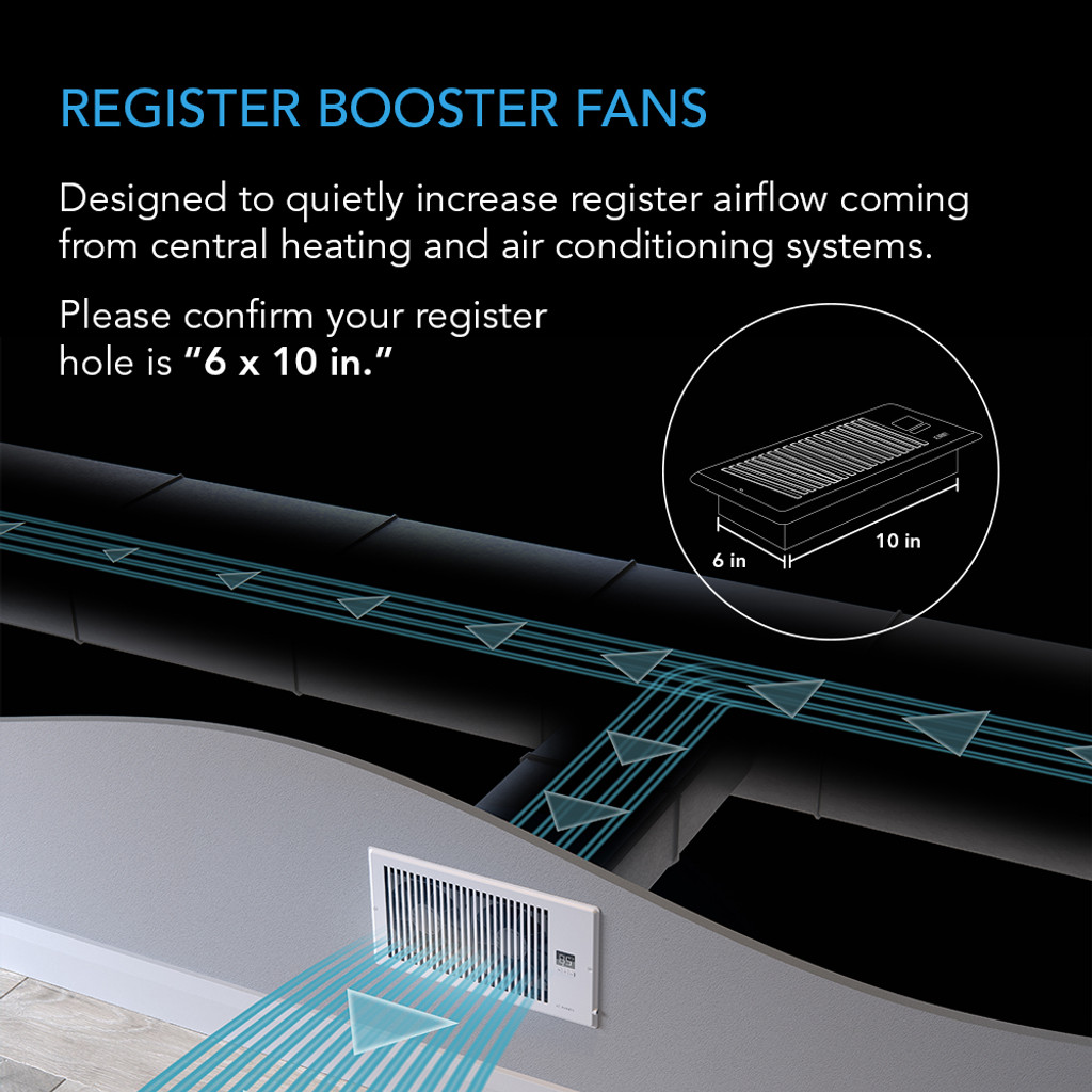 Register Booster Fan