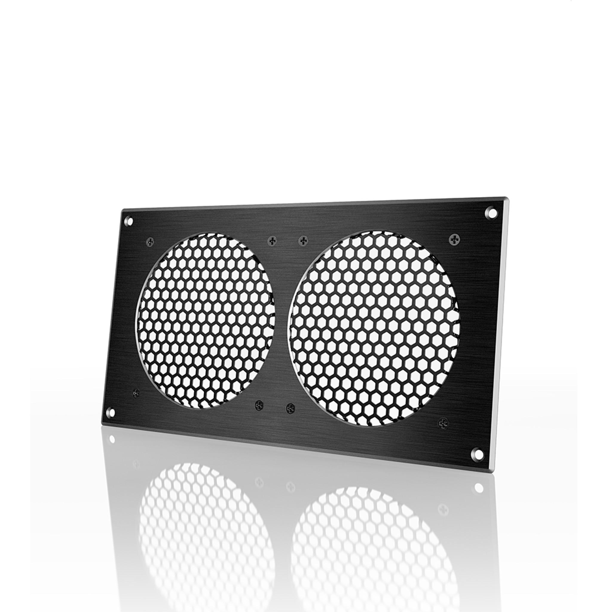 Ac Infinity Cabinet Passive Ventilation Grille Black 12