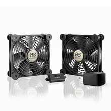 AC-Powered Dual 120mm Cooling Fan