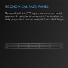 Rack Panel 1U Vented