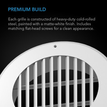Wall-Mount Duct Grille