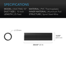 """Duct Tube, Ducting 10"""""""