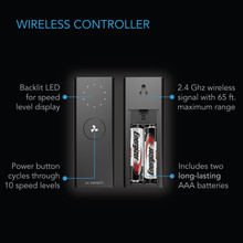 Wireless Remote Fan Controller, Home HVAC and Grow Tent Ventilation