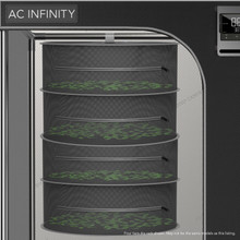 AC Infinity Herb Drying Rack, Multi-Tier Hanging Mesh Net for Plants, Seeds, and Buds in Indoor Grow Tents Closets Hydroponics