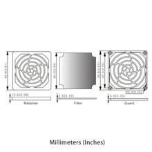 92mm Fan Filter