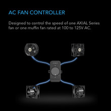 AC Axial Muffin Fan Speed Controller Cord