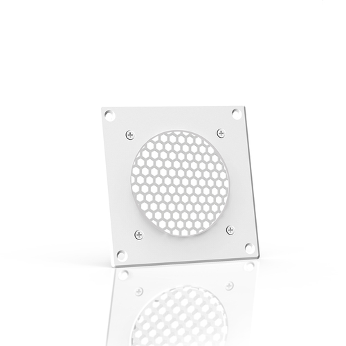 AC INFINITY, Cabinet Ventilation Grille White, 4 Inch