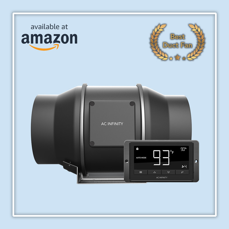 CLOUDLINE T6 Voted BEST Duct Fan on Amazon!