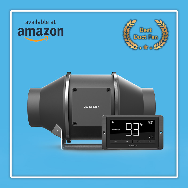 CLOUDLINE T4 Voted BEST Duct Fan on Amazon!