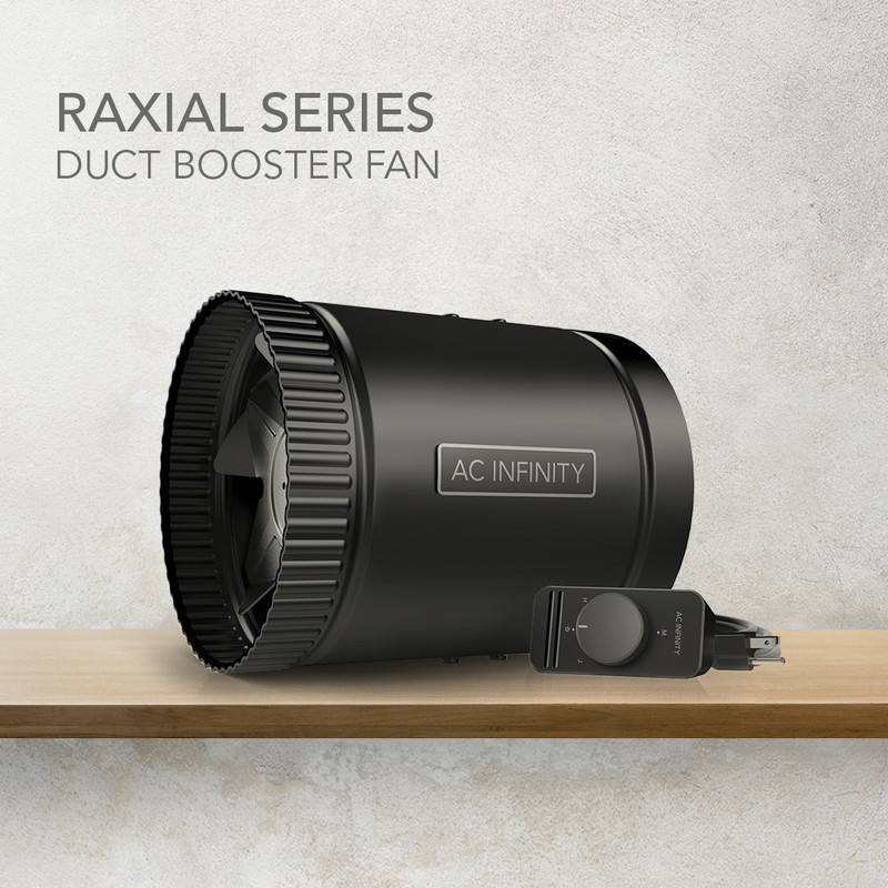 Enter the RAXIAL Duct Booster Fan!