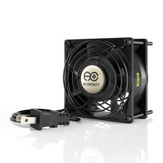 Axial 9238 Muffin 120v Ac Cooling Fan 92mm X 92mm X 38mm