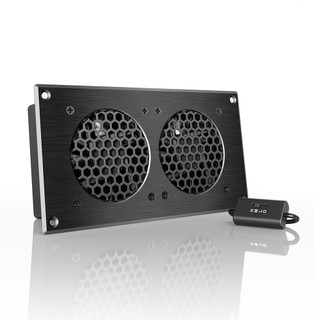 AIRPLATE S5, Home Theater and AV Quiet Cabinet Cooling Fan ...