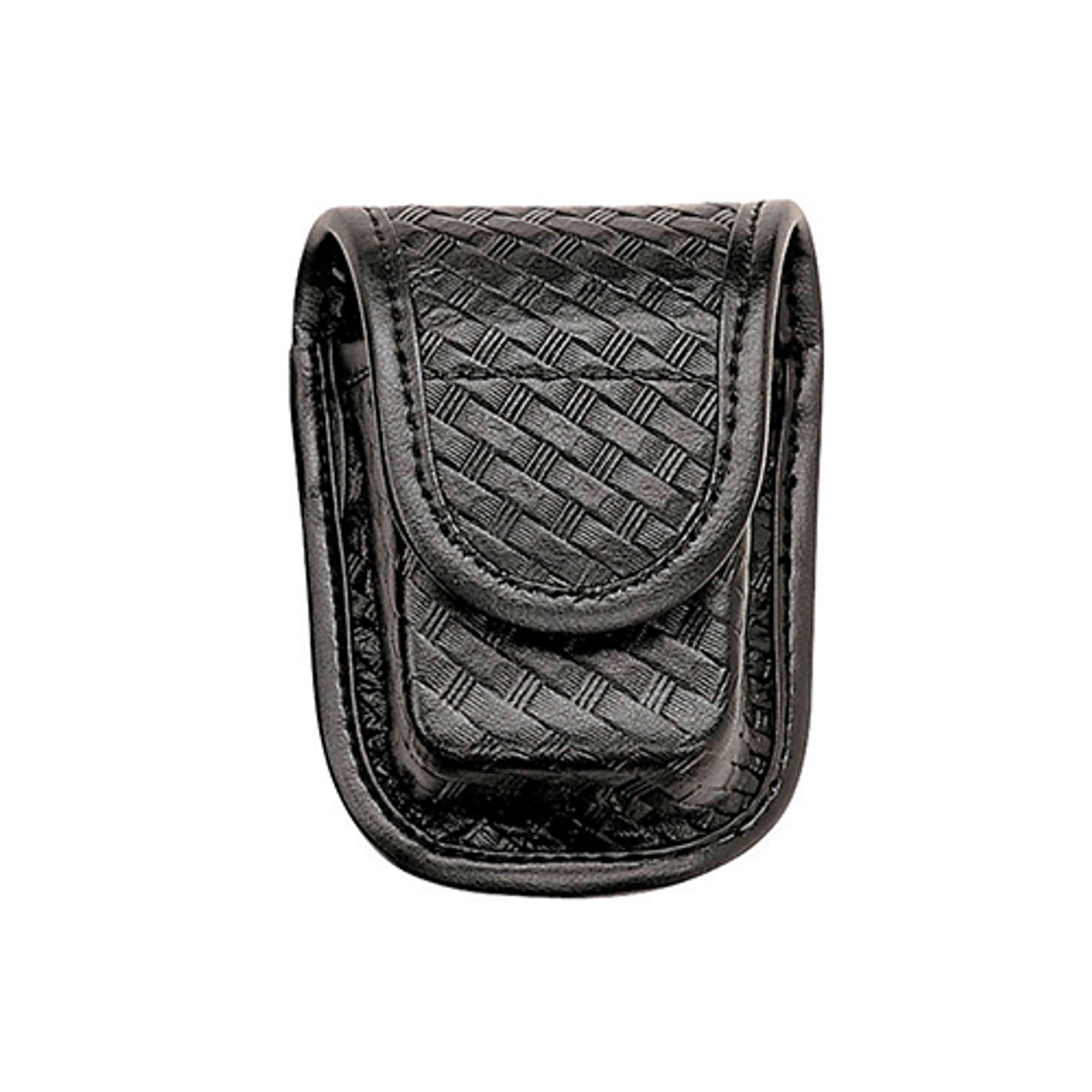 Basketweave Black Bianchi Accumold Elite Chrome Snap 7915 Pager or Glove Pouch