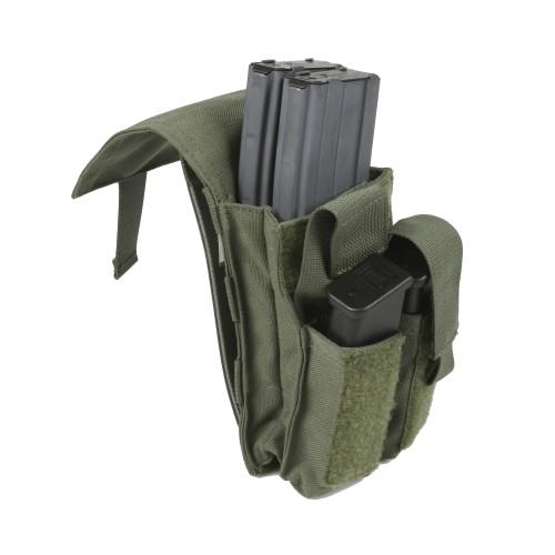 Protech TP7 Dual M4 & Side Arm Magazine Pouch