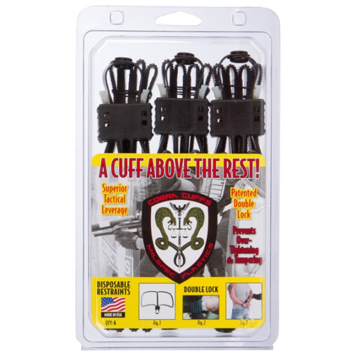 Cobra Cuffs Disposable (6 Pack)