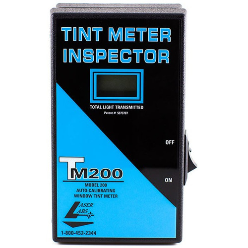 Laser Labs Tint Meter model 200 - 2 Piece with Case