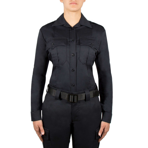Blauer Long Sleeve Cotton Shirt | Women's 8703WX