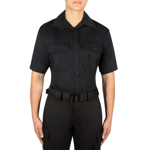 Blauer Short Sleeve Cotton Shirt | Women's 8713WX