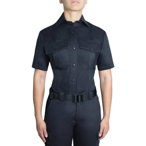 Blauer Short Sleeve Cotton Shirt | Women's 8256W