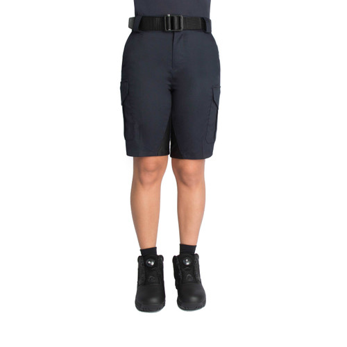 Blauer Side-Pocket Cotton Shorts | Women's 8841-1WX