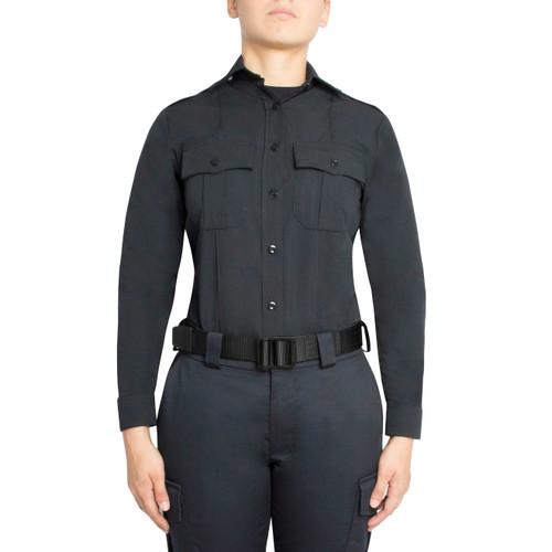 Blauer Long Sleeve Cotton Shirt - Women's 8431W