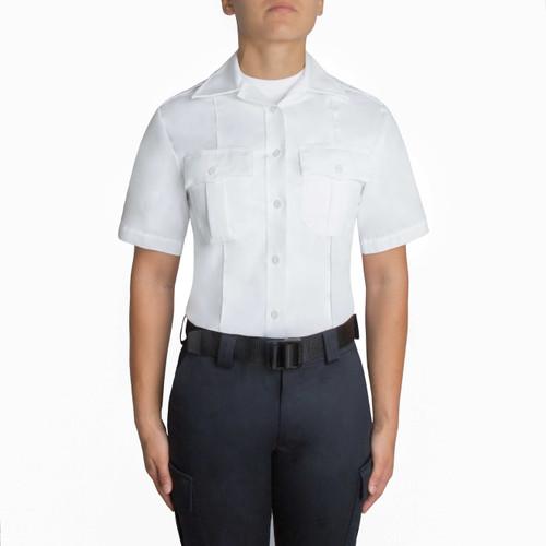 Blauer Short Sleeve Cotton Shirt - Women's 8421W