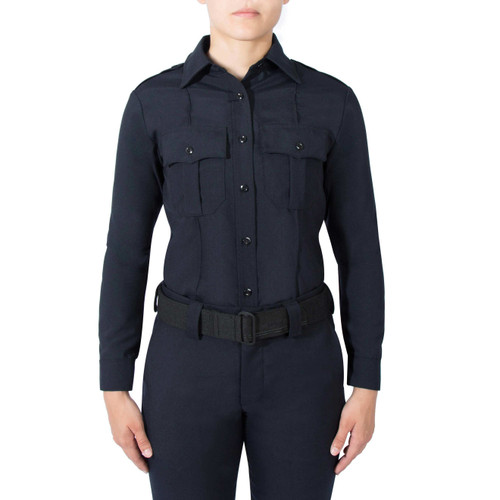 Blauer Long Sleeve Wool Shirt | Women's 8450W