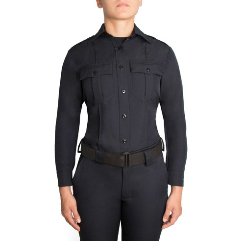 Blauer Long Sleeve Zippered Polyester Shirt | Women's 8600W-Z