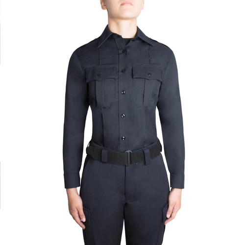 Blauer Long Sleeve Rayon Shirt | Women's 8900W