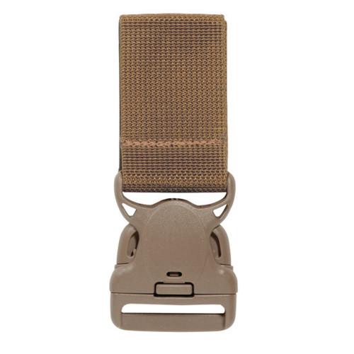 Safariland Model 6005VE Quick Release Buckle w/ Hook & Loop Belt Attachment