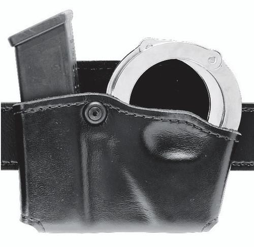 Safariland Model 573 Open Top Magazine Pouch and Cuff Case