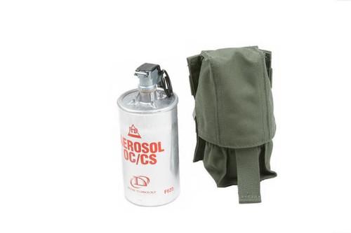 Protech Single Grenade Pouch w/ Molle Attachment