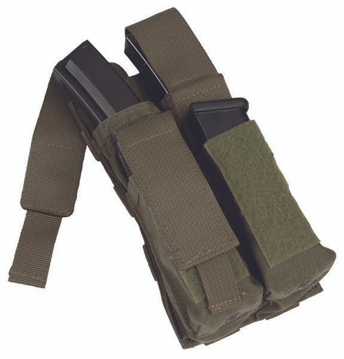 Protech LT8 Double M5/Side Arm Mag Pouch w/ Molle Attachment