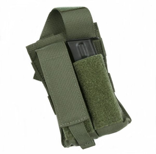 Protech Double Side Arm Mag Pouch w/ Molle Attachment