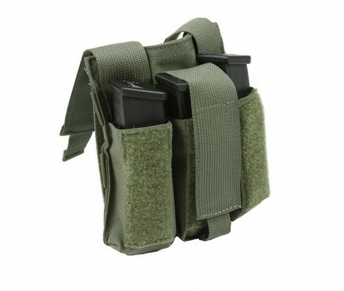 Protech LT10B Triple Side Arm Mag Pouch w/ Molle Attachment