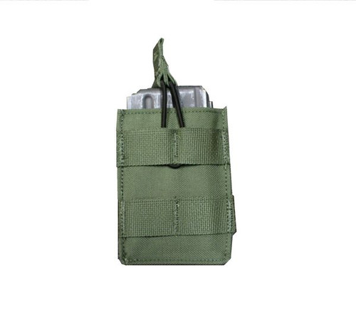 Protech LT6 Single Short M4 Mag Pouch w/ Molle Attachment