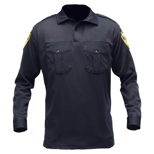 Blauer 8140 Long Sleeve Knit Shirt