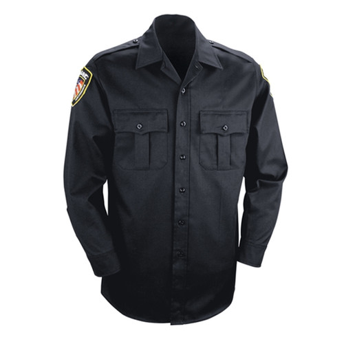 Blauer Fire Retardant Woven Long Sleeve Shirt