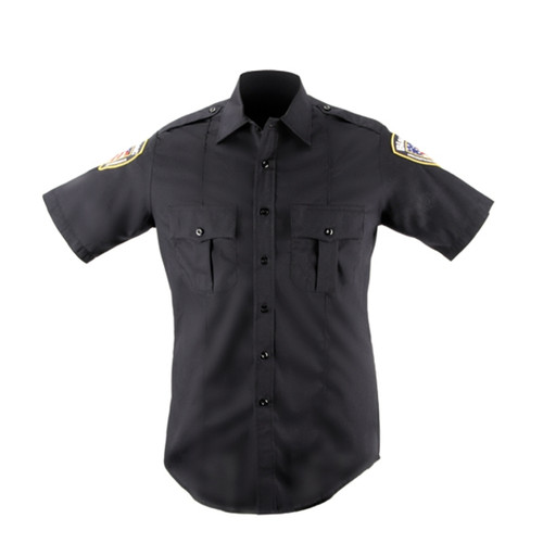 Blauer 8213N Fire Redardant Woven Short Sleeve Shirt