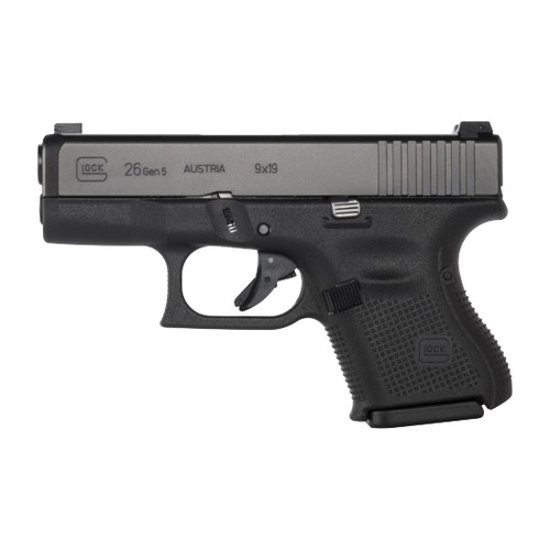 Glock 26 Gen5 9MM Handgun with Ameriglo Sights - PA2650302AB