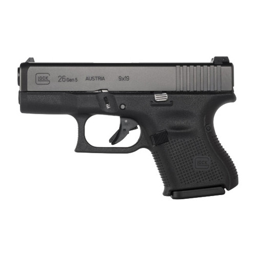 Glock 26 Gen5 9mm Handgun with Fixed Sights - PA2650202