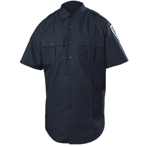 Blauer S/S Zippered Polyester Shirt | 8610Z