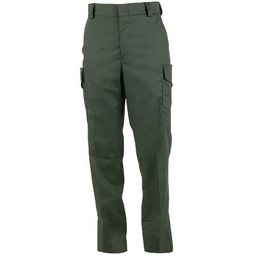Blauer Side-Pkt Rayon Blend Trousers |  Streetgear 8980
