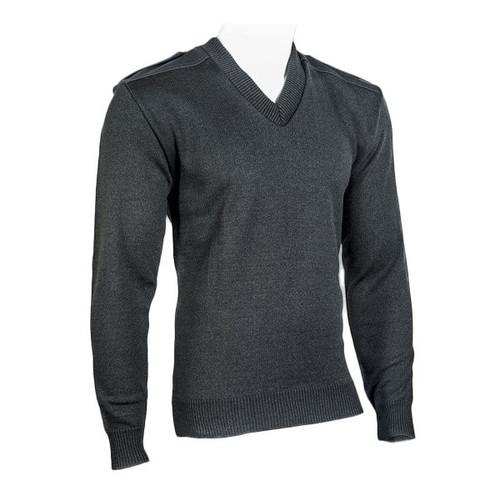 Cobmex 2025 V-Neck Sweater with Velcro Epaulets