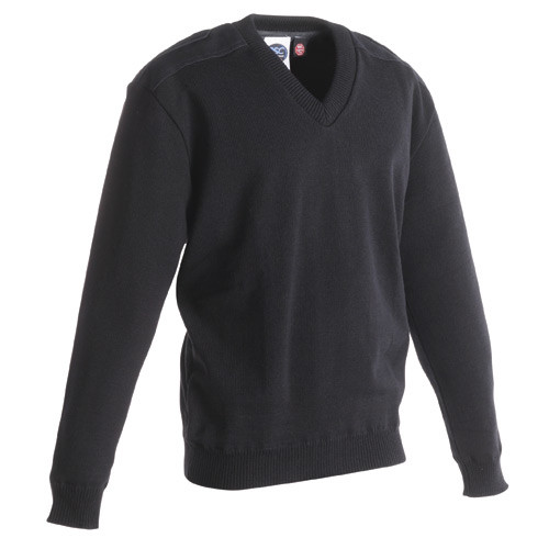 Cobmex 2085 V-Neck Jersey Knit Commando Sweater with Windstopper Lining