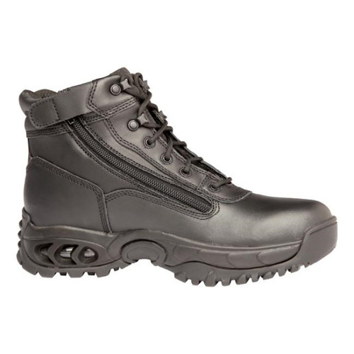 """Ridge 8003ALWP 6"""" Air-Tac All Leather WP Mid Size Zip Boot"""
